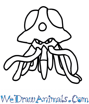 How to Draw  Tentacruel in 7 Easy Steps