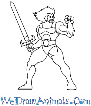 How to Draw  Thundercats in 8 Easy Steps