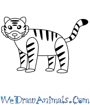 How to Draw a Tiger For Kids in 6 Easy Steps