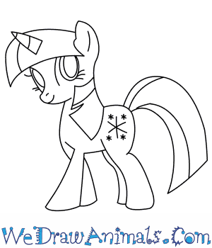 How to Draw  Twilight Sparkle in 8 Easy Steps