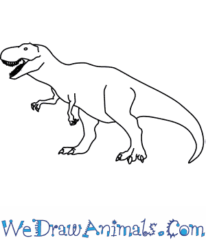 How to Draw a Tyrannosaurus in 6 Easy Steps