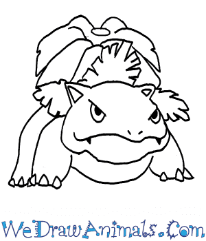 How to Draw  Venusaur in 7 Easy Steps