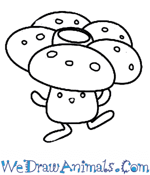 How to Draw  Vileplume in 7 Easy Steps