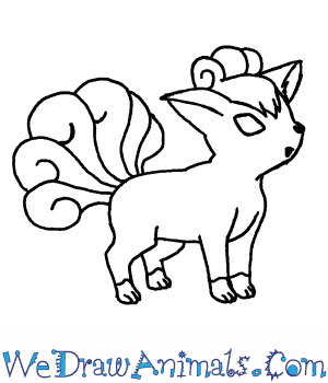 How to Draw  Vulpix in 7 Easy Steps