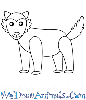 How to Draw a Wolf For Kids in 6 Easy Steps