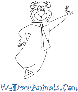 How to Draw  Yogi Bear in 7 Easy Steps
