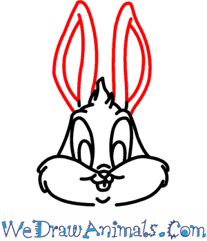 How To Draw Baby Bugs Bunny