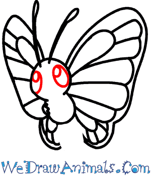 How To Draw Butterfree Pokemon
