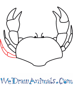 How to Draw a Crab - Quick Step-by-Step Tutorial - Step 7