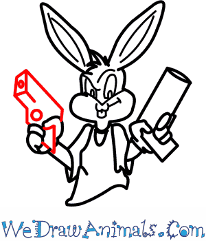 Image of: Skulls Print Tutorial Pinterest How To Draw Gangster Bugs Bunny From Looney Tunes