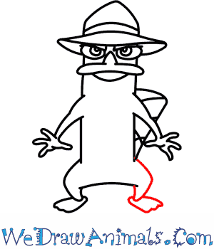 how to draw perry the platypus