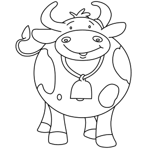 Clarabelle Cow Coloring Coloring