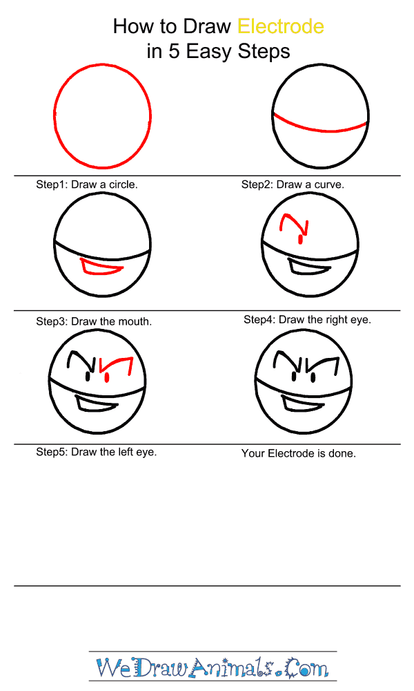 How to Draw Electrode - Step-by-Step Tutorial